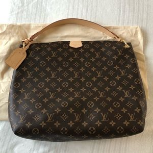 *NEW* Louis Vuitton Monogram Graceful Hobo MM